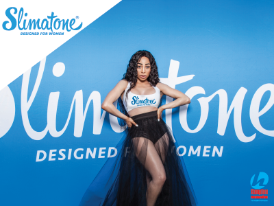 It's official, Khanyi Mbau is The Face of Slimatone!