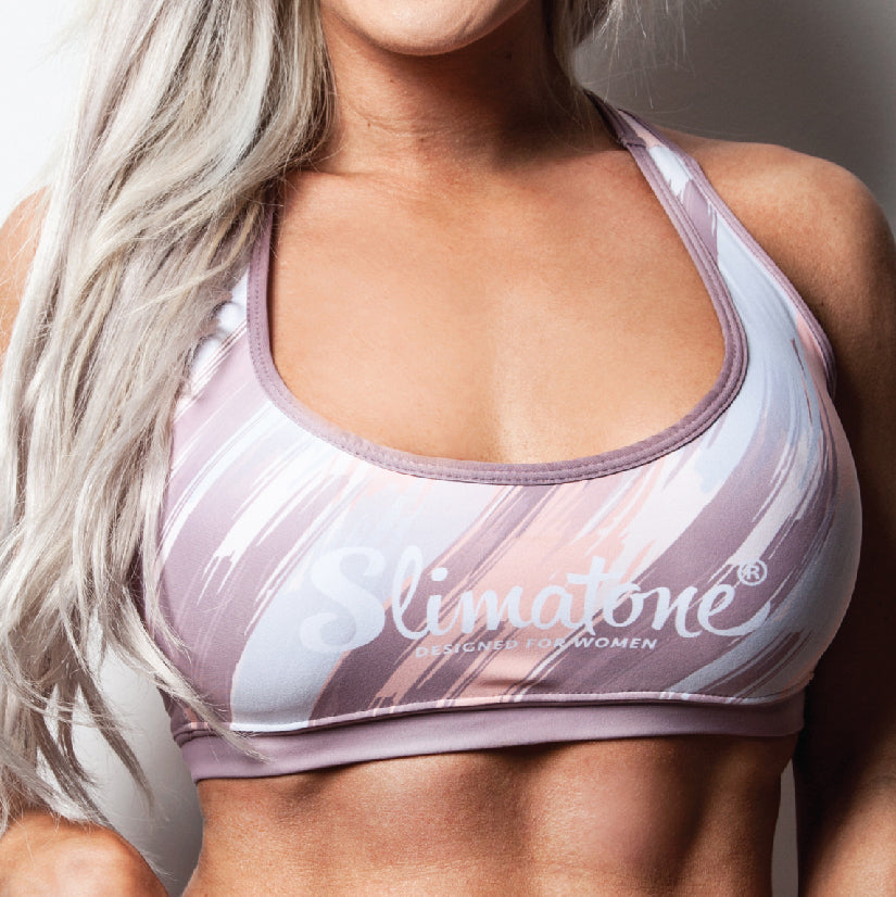 Sports Bra (Nude Multicolour)