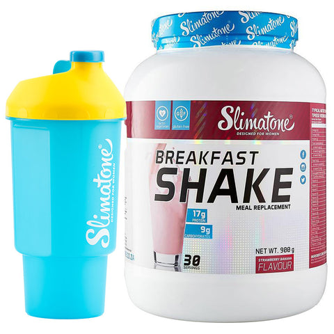 Breakfast Shake (Strawberry Banana) + Free Shaker
