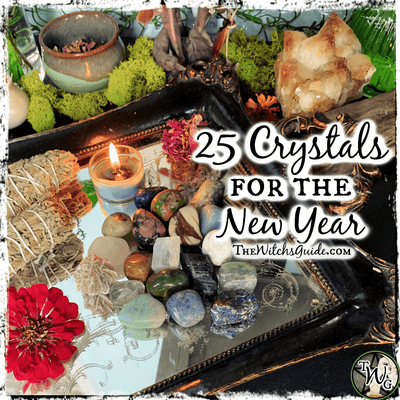 25 Crystals for the New Year
