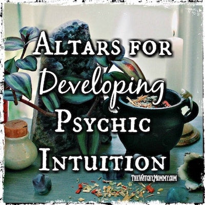 Setting Up an Altar for Developing Psychic Intuition