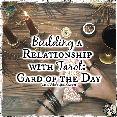 Building a Relationship with Tarot: Card of the Day
