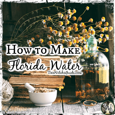 Witchy DIYs: How to Make Florida Water