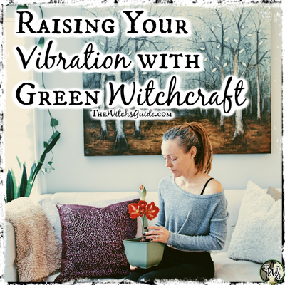 Raising Your Vibration with Green Witchcraft