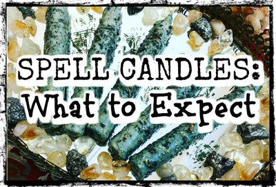 Spell Candles: What to Expect