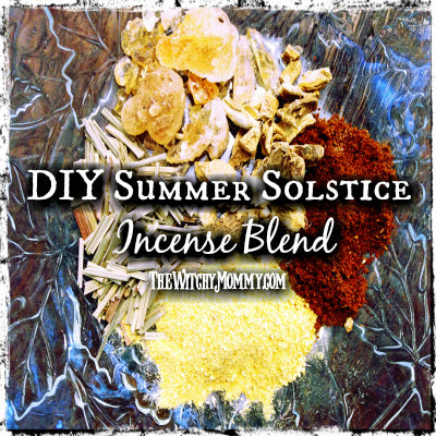 DIY Summer Solstice Incense Recipe