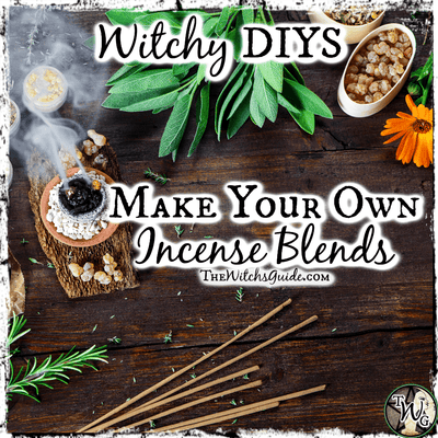 Witchy DIYS: Make Your Own Incense Blends