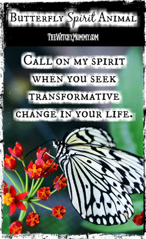 Butterfly Spirit Animal, Crafting Magick Tips