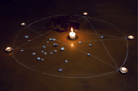 Casting a Circle, Quarter Moons Spells & Rituals, The Witch's Guide