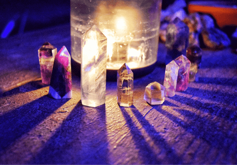 How to Charge Crystals, Crystals for Beginners, Crystals 101, The Witch's Guide