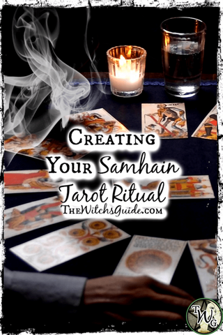 Creating Your Samhain Tarot Reading, A Year Ahead Spread, The Witch's Guide