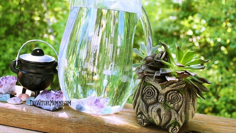 How to Make Crystal Water for Plants, Crafting Magick Tip