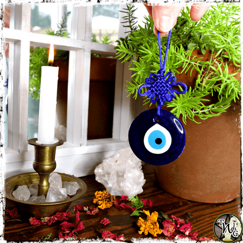 Evil Eye Amulet, Malochia Amulet, Protection, The Witch's Guide