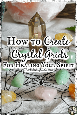 How to Create Crystal Grids for Healing Your Spirit   The Witch's Guide