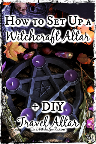 How to Set Up a Witchcraft Altar + DIY Travel Altar | The Witch's Guide
