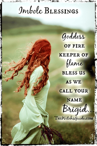Goddess Brigid Chant, Imbolc Sabbat, Pagan Sabbats, Celtic Goddess, The Witch's Guide