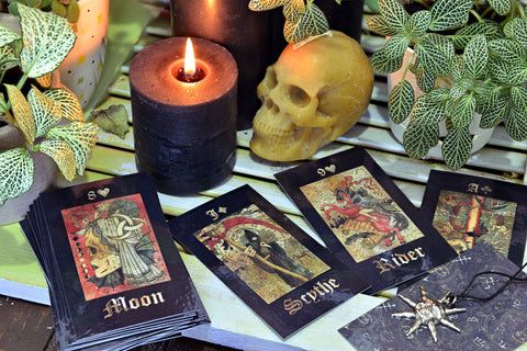 Lenormand Cards, Divination Cards, The Witch's Guide