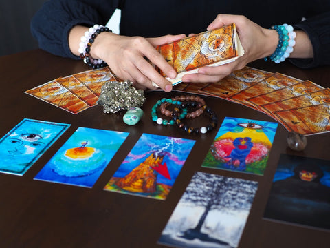 Oracle Cards, Divination Cards, The Witch's Guide