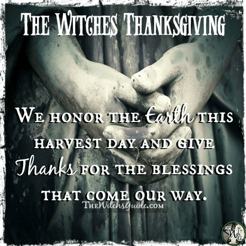 The Witches Thanksgiving, Autumn Equinox, Mabon Sabbat, The Witch's Guide