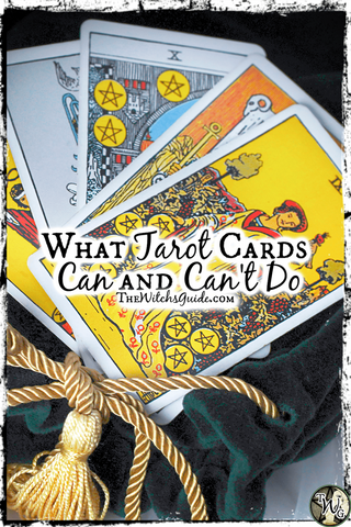What Tarot Cards Can and Can't Do, The Witch's Guide
