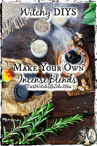 Witchy DIYS: Make Your Own Incense Blends | The Witch's Guide