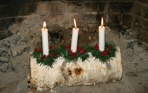 Yule Log, Winter Solstice, The Witch's Guide