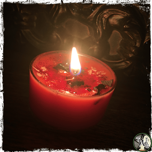 Amore Candles for love, romance, The Witch's Guide