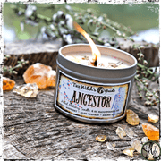 Ancestor Spell Candle, Herbal Alchemy Spell Candles, The Witch's Guide