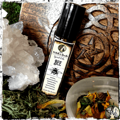 Bee Spirit Oil, Ritual Oil, Meditation Oil, The Witch's Guide