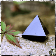 Black Onyx Crystal Pyramid, Crystals for Protection, The Witch's Guide