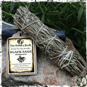 Black Sage Mugwort Smudge Bundle | Astral Travel, Lucid Dreaming