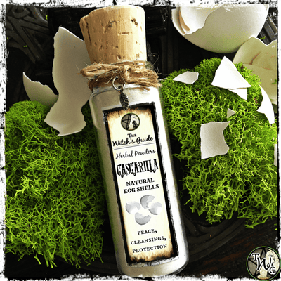 Cascarilla Eggshell Powder for Purification, Protection, The Witch's Guide