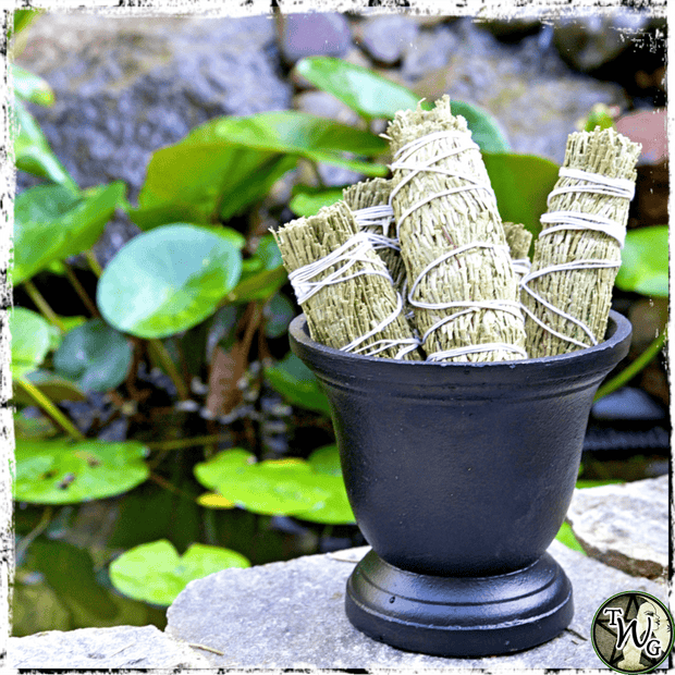Cedar Smudge Bundles for protection, courage, and optimism, The Witch's Guide