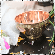 Copper Tree of Life Ritual Bowl | Hold Offerings, Moon Water, Incense