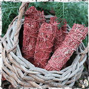 Dragon's Blood Herbal Smudge Bundle, Pack of 2 | Empowerment, Manifestation