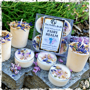 Fairy Realm Spell Candles, Connect with the Fae, The Witch's Guide