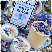 FAIRY REALM | Herbal Alchemy Spell Candles | Transformation, Guidance