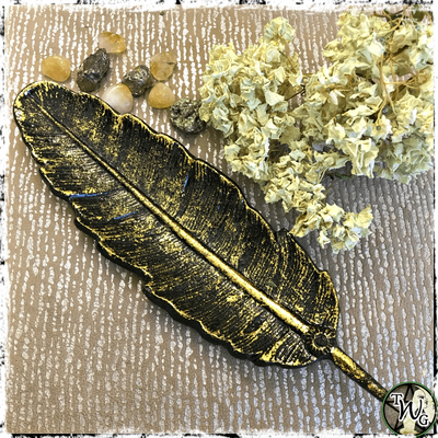 Feather Incense Burner, Altar Tools
