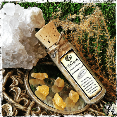 Frankincense Resin Incense, Witchcraft Herbs, The Witch's Guide