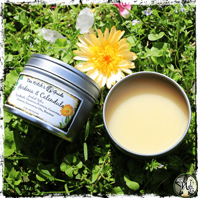 Gardenia and Calendula Herbal Salve for Healing and Beauty, The Witch's Guide