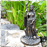 Hecate Goddess Statue, Goddess of Death, The Witch's Guide