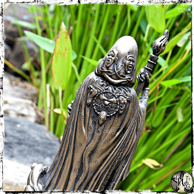 Hecate Goddess Statue, Goddess of the Crossroads, The Witch's Guide
