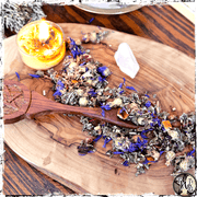 Herbal Tea for Spirit Communication, Crossing the Veil, The Witch's Guide