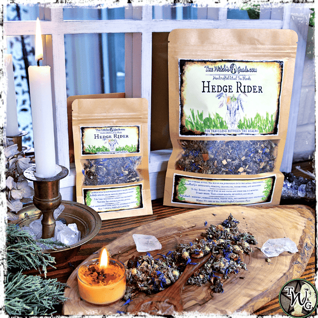 Hedge Rider Ritual Tea for Samhain, The Witch's Guide