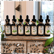 Witches Herbal Tincture Set of 7 | Organic, Herbal Medicine