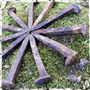 Iron Railroad Spikes | Home & Property Protection