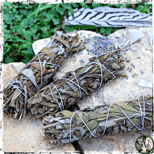 Lavender Herbal Smudge Bundle | Tranquility, Harmony
