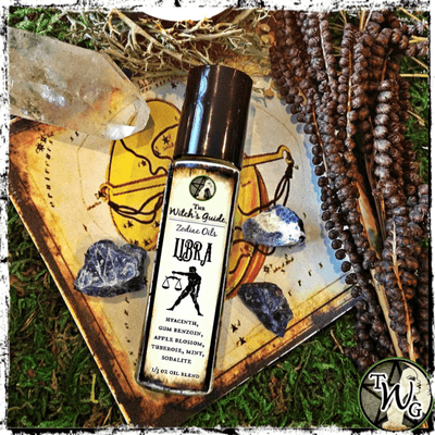 Libra Zodiac Oil, Zodiac Gifts, October Birthday Gift, The Witch's Guide