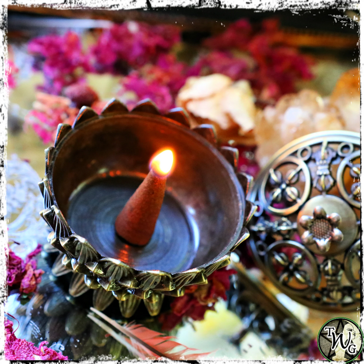 Lotus Incense Burner, The Witch's Guide