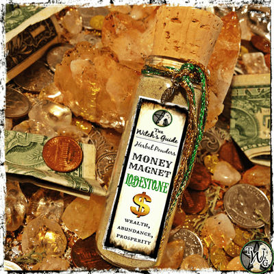 MONEY MAGNET Lodestone Spell Powder | Prosperity